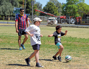 Craft, sport, photography, hair spray and food – there was something for everyone at the Central West Family Support (CWFS) and Lachlan Youth Services' Sports Day last Wednesday.